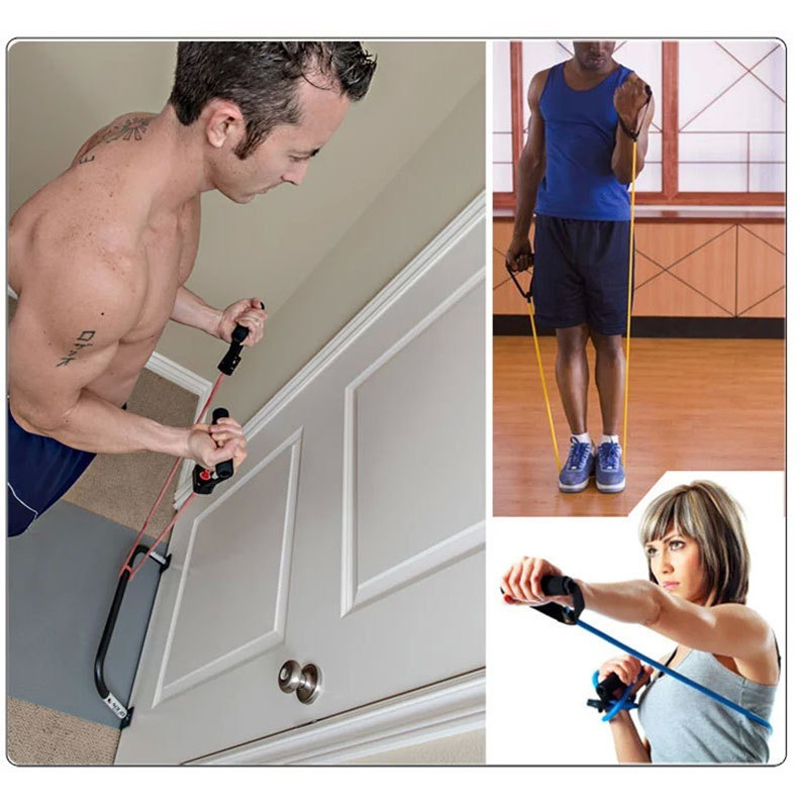 Home Gym Kit Out: Resistance Bands With Handles, Workout Bands