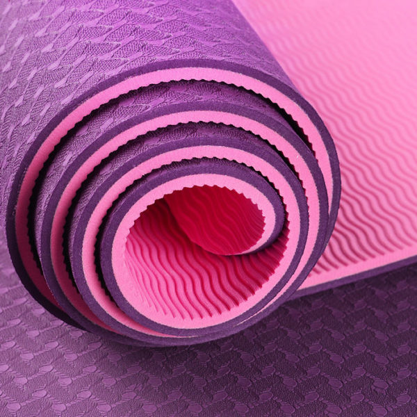 Non-Slip TPE Yoga Mat, Workout Mat, Rubber Gym Mat | Think ...