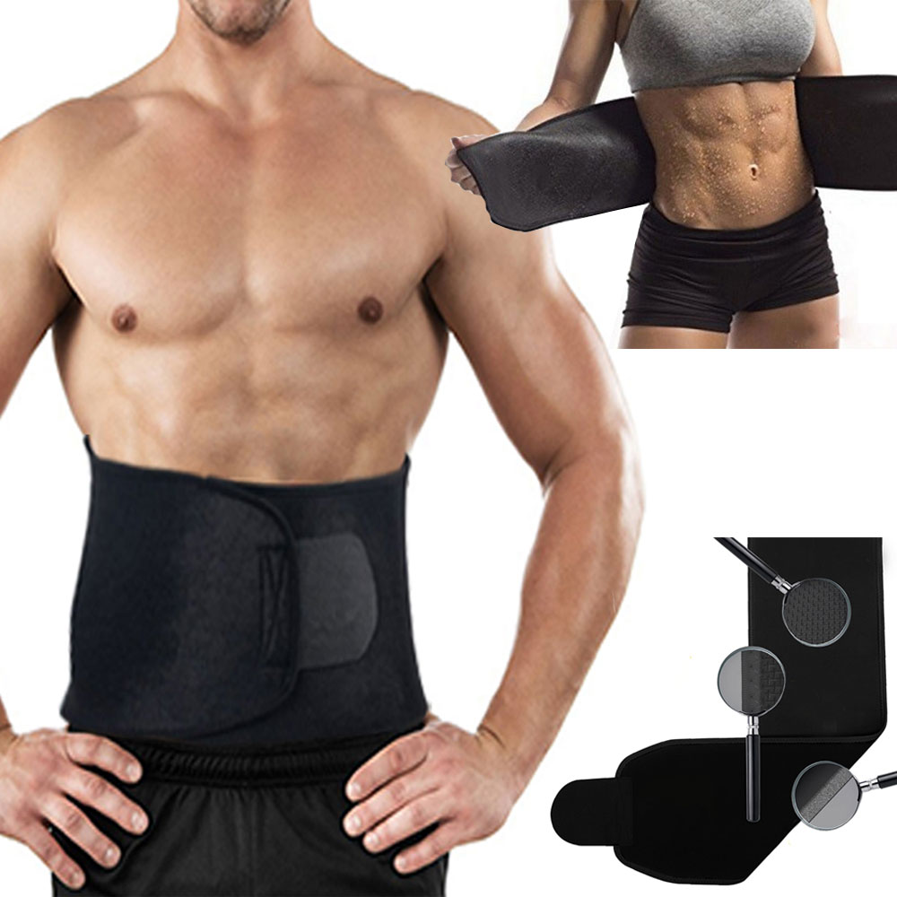 9b5f888deb Durable Waist Trimmer Belt  100% Latex-Free Slim Belt for Men   Women