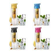 HOT 800ML flesh Fruit Infusing Infuser Portable Water Bottle Cycling Sport Lemon Juice kettle outdoor Health 4