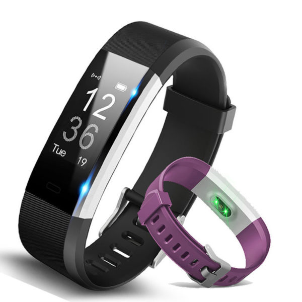 Hembeer H115 Exercise Tracker: Bluetooth Smart Watch ...