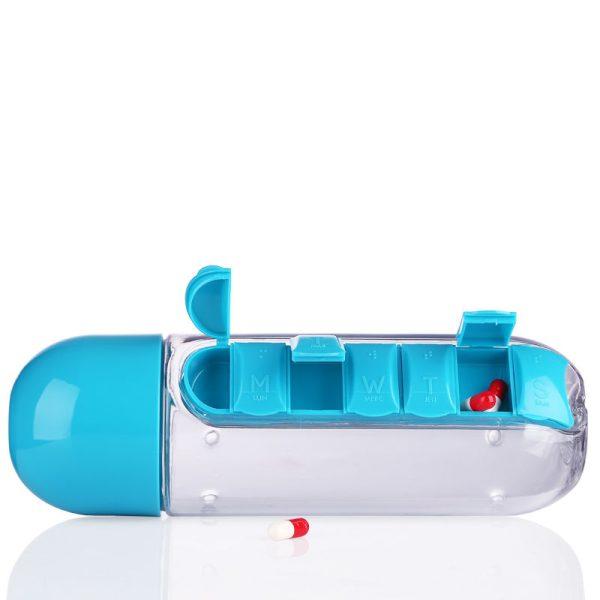 Cool Water Bottles 600 Ml 2 In 1 Cheap Water Bottles
