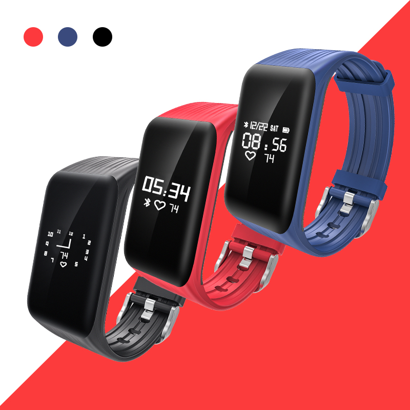 New Fitness Tracker K Smart Bracelet Real Time Heart Rate Monitor Down To Sec Charging on best yoga for weight loss
