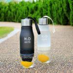 H2O Lemon Fruit Infuser Water Bottle – Leak Proof – BPA Free