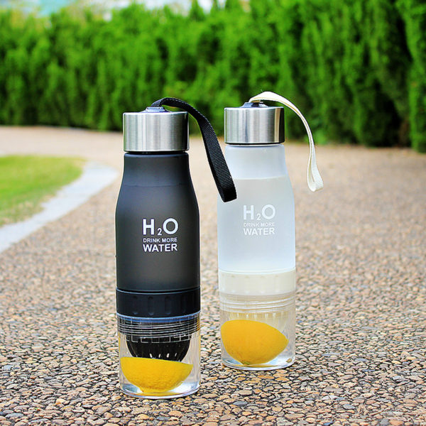 New Xmas Gift 650ml My Water Bottle plastic Fruit infusion bottle Infuser Drink Outdoor Sports Juice