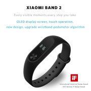 Original Xiaomi Mi Band 2 Smart Bracelet Watch Wristband Miband Fitness Tracker OLED Touchpad Sleep Monitor 1