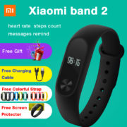 Original Xiaomi Mi Band 2 Smart Bracelet Watch Wristband Miband Fitness Tracker OLED Touchpad Sleep Monitor
