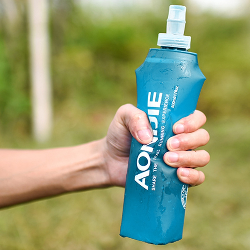Aonijie Folding Water Bottle Best Collapsible Water