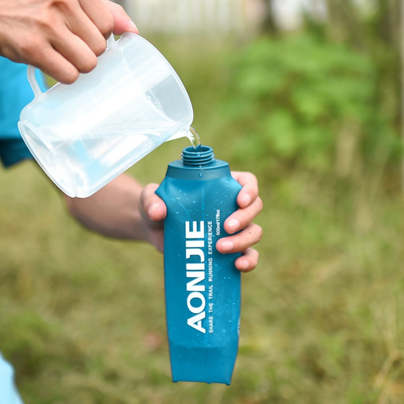 aonijie folding water bottle best collapsible water