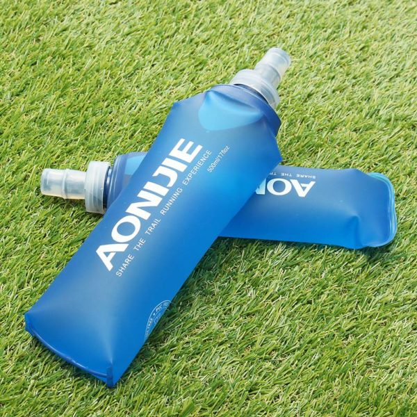 collapsible water bottle aonijie folding water bottle best collapsible water 10159