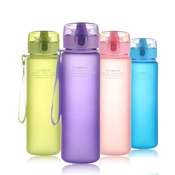 PURANKA My Xmas Gift Bottle 400ML 560ML Tour Outdoor Sport School Leak Proof Seal Water bottle