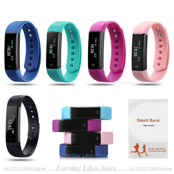 Fitness Bands You Can Swim With: Sporch ID115: Best Sports Watch & Fitness Wristband