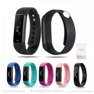 Sporch ID115 Smart Bracelet Sport Bracelet Fitness Tracker Watch Alarm Clock Step Counter Smart Wristband Band