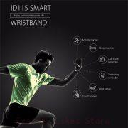 Sporch ID115 Smart Bracelet Sport Bracelet Fitness Tracker Watch Alarm Clock Step Counter Smart Wristband Band 4