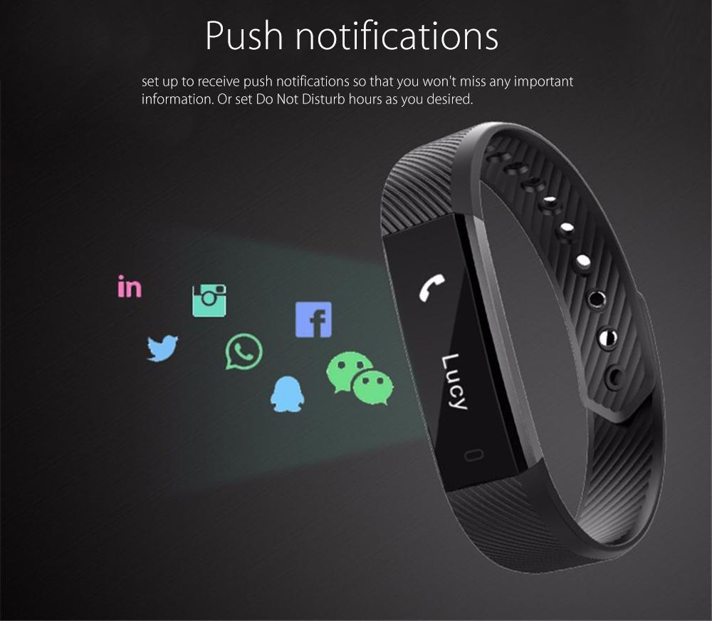 Sporch Id115 Best Sports Watch Amp Fitness Wristband