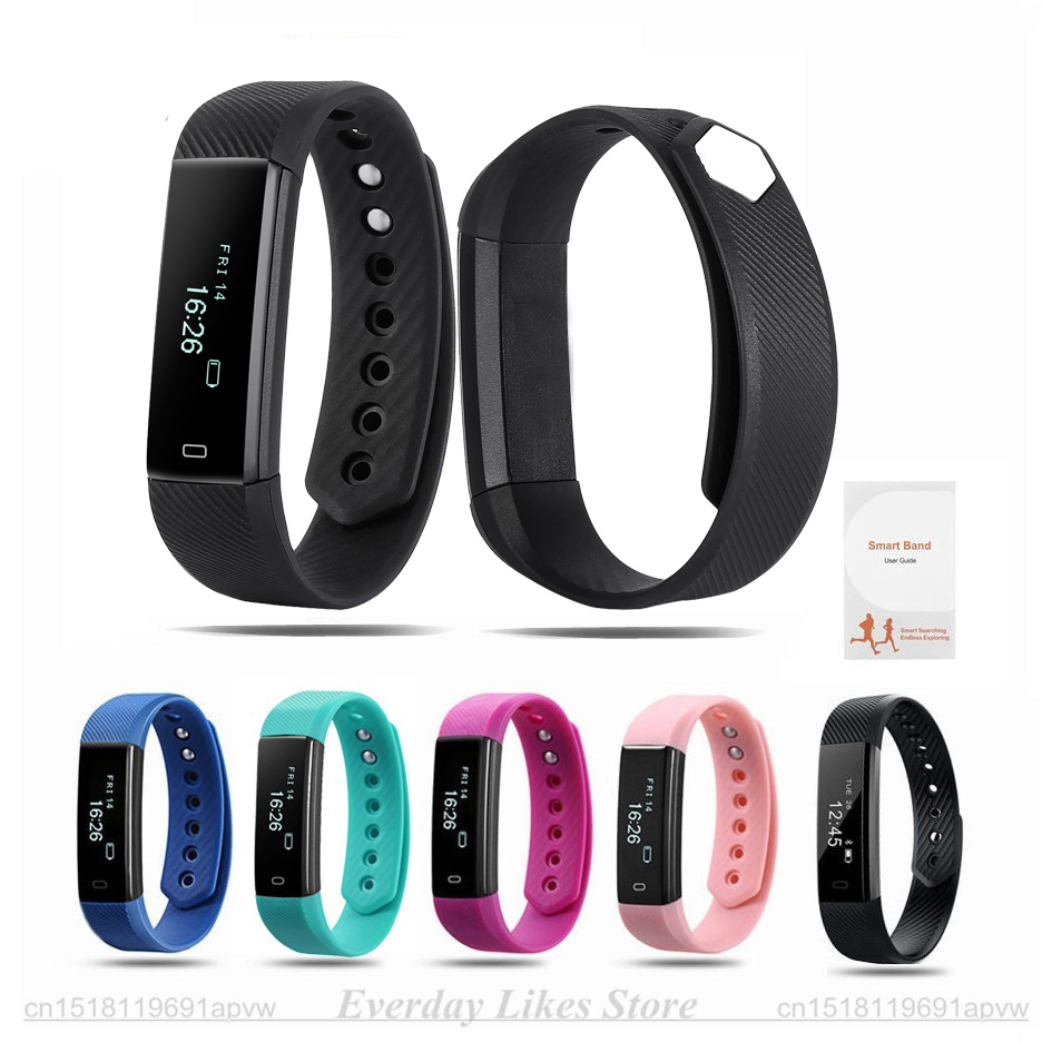 bluetooth bracelet mu heart smart itm band tracker monitor watch lot f rate fitness