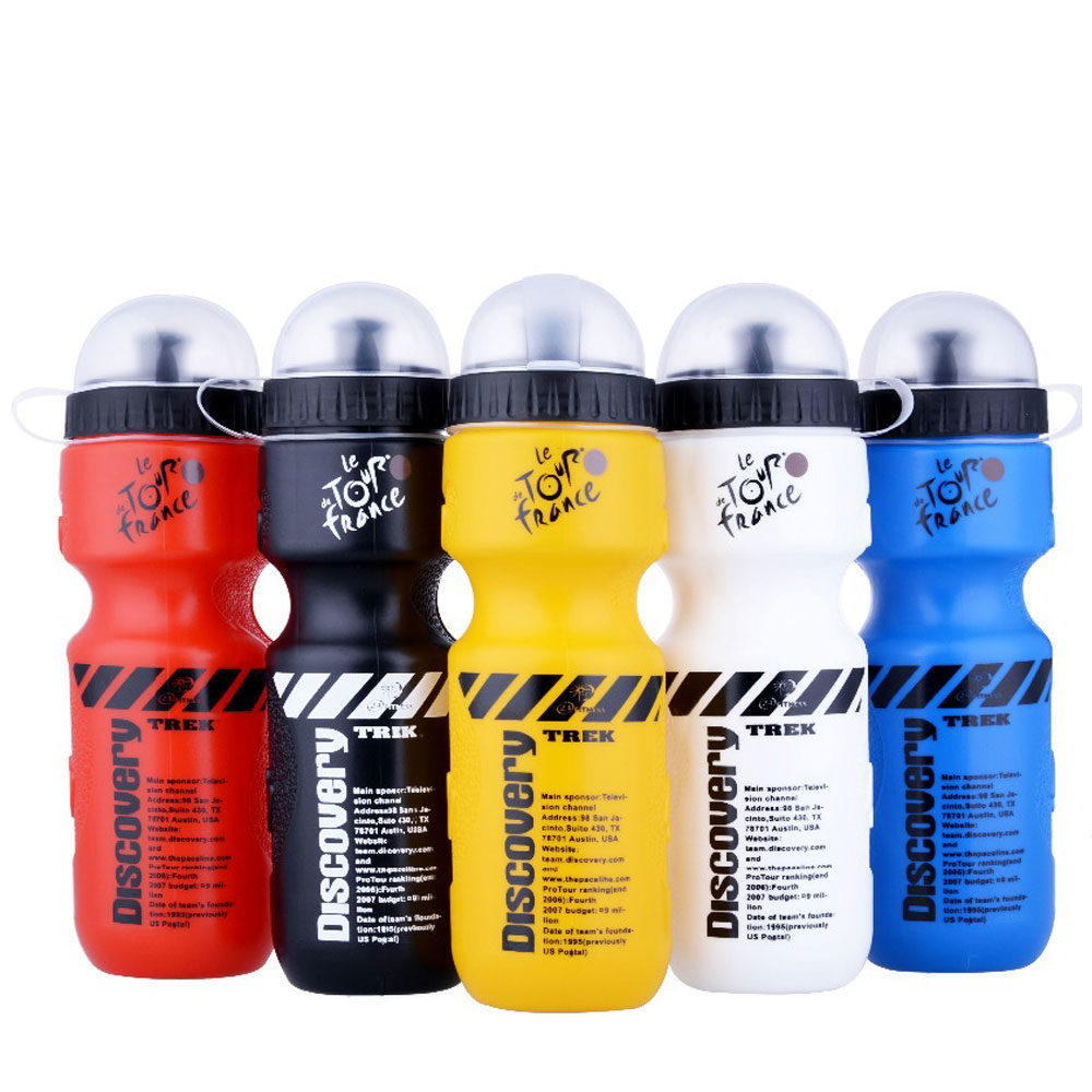 Transhome Sports Water Bottle 650ml Bicycle With Lid Portable Bike For Mountain Outdoor Camping Supplies For e1517189669450