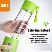 Transhome USB Rechargeable Juicer Water Bottle 400ml Mini Portable Electric Lemon Fruit Juicer Milkshake Smoothie Maker 1