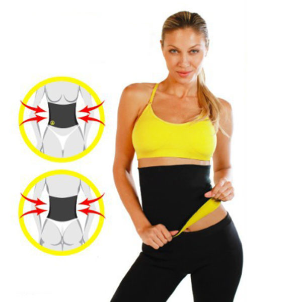 e7770b7079 Waist Trimmer  100% High Quality Waist Sweat Band   Weight Loss Belt