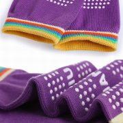 Women professional Yoga socks Non slip Women five finger Toe Socks Athletic Sport Pilates Massage Socks 2