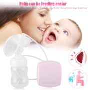 BPA Free Electric Intelligent Automatic Breast Pumps Powerful Nipple Comefortable Suction Milk Pump USB Breast Pump 1