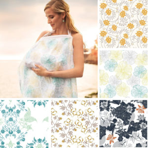 Breastfeeding Cover Baby Infant Breathable Cotton Muslin nursing cloth L large size big Nursing Cover