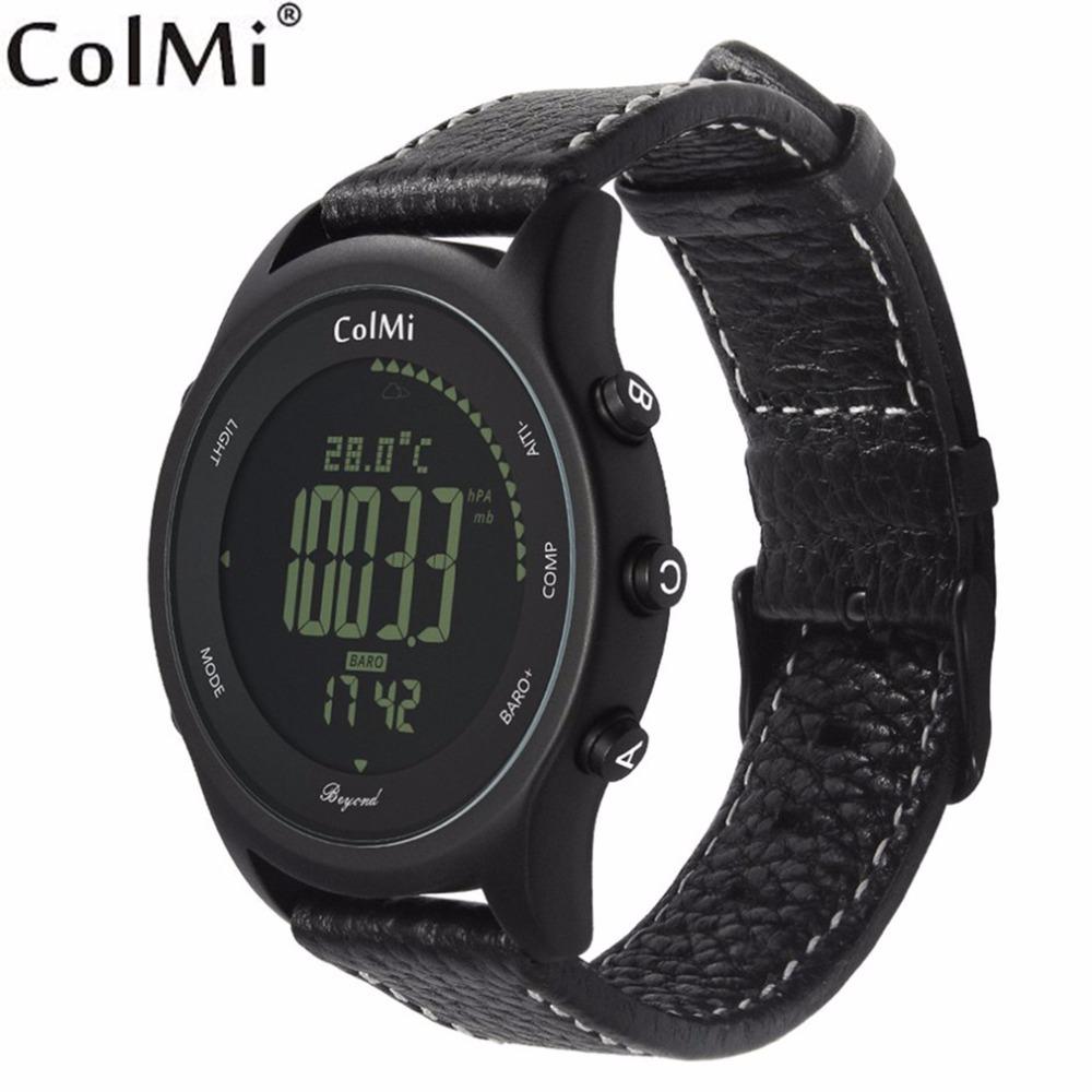 ColMi Beyond Sport Smart Watch IP68 5ATM Professional Waterproof Pressure Temperature Altitude Man Outdoor Mountain Smartwatch