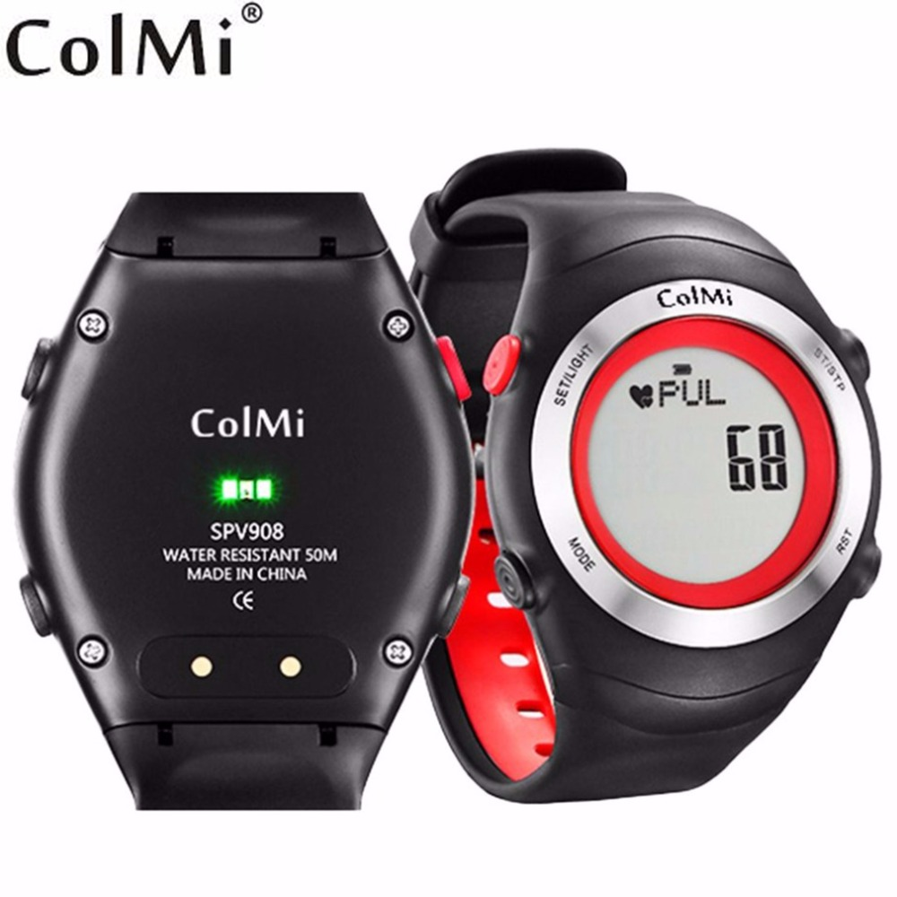 ColMi Fast Smart Watch Heart Rate Monitor 5ATM Waterproof Exercise Time Standby 30 Days Outdoor Sport