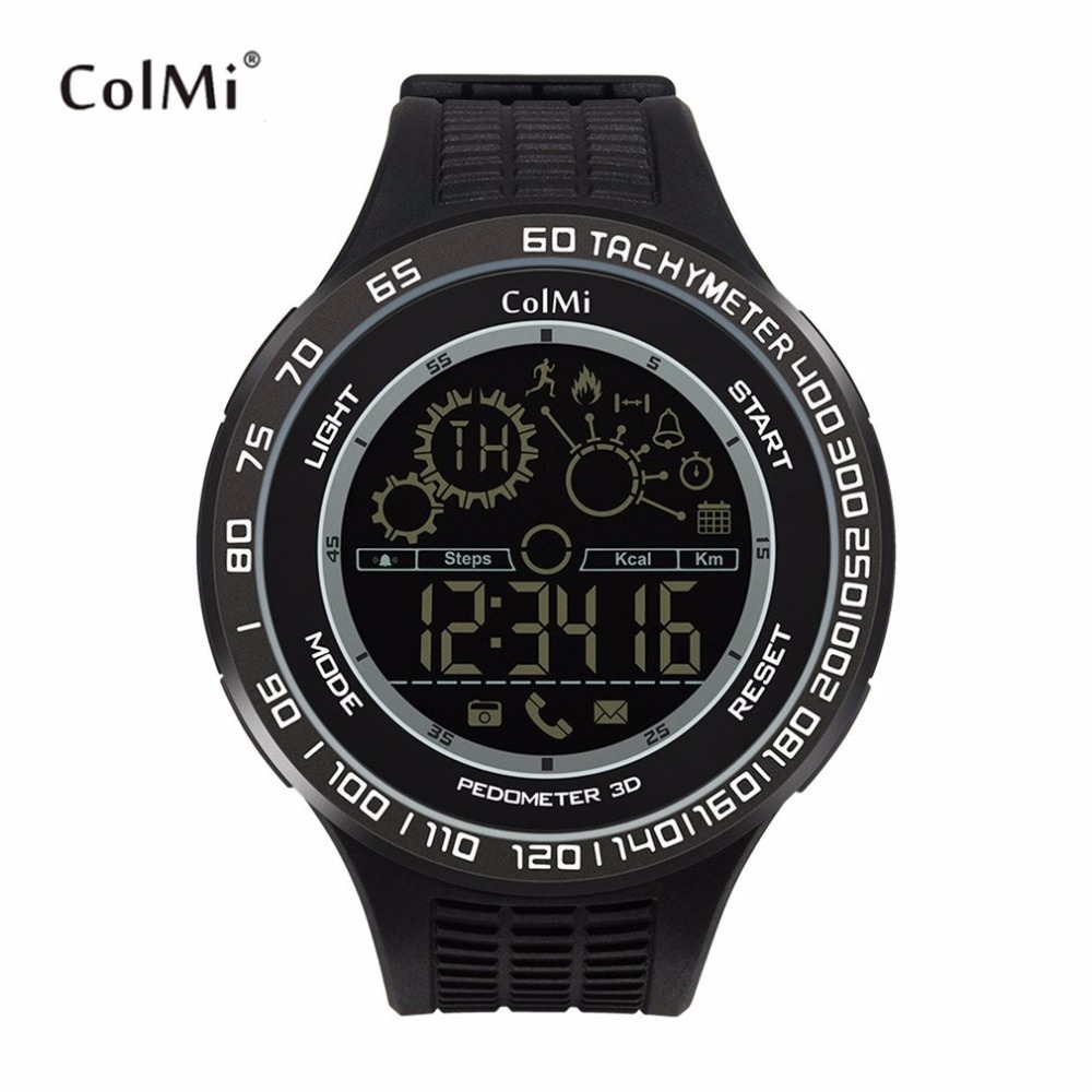 ColMi King Kong Sport Smart Watch Waterproof Passometer Motion Monitor Ultra long Standby Smartwatch For Android