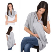 EGMAOBABY Nursing Scarf For Breastfeeding By Consider It Maid 100 Cotton Soft Lightweight Breathable Material