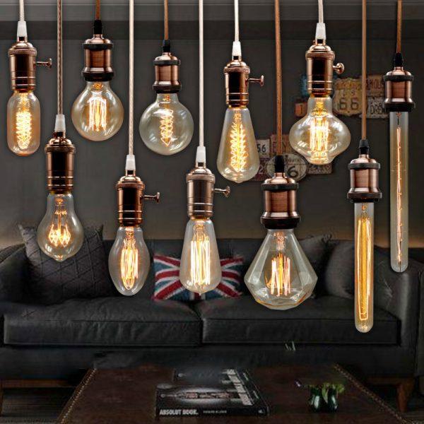 Light Bulb For Wedding Vintage Lamp Carbon Filament