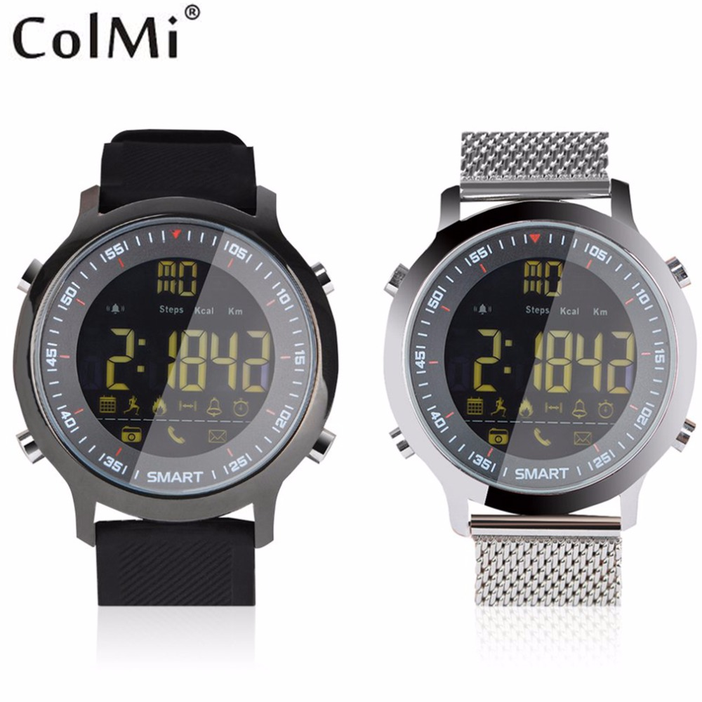 Hot ColMi VS506 Smart Watch Pedometer Calorie Message Reminder 5ATM IP68 Sport Swimming Wristband For Android