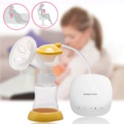 Single USB BPA Free Electric Breast Pump Powerful Nipple Suction Breast Pumps Mom Love With 160ML 3