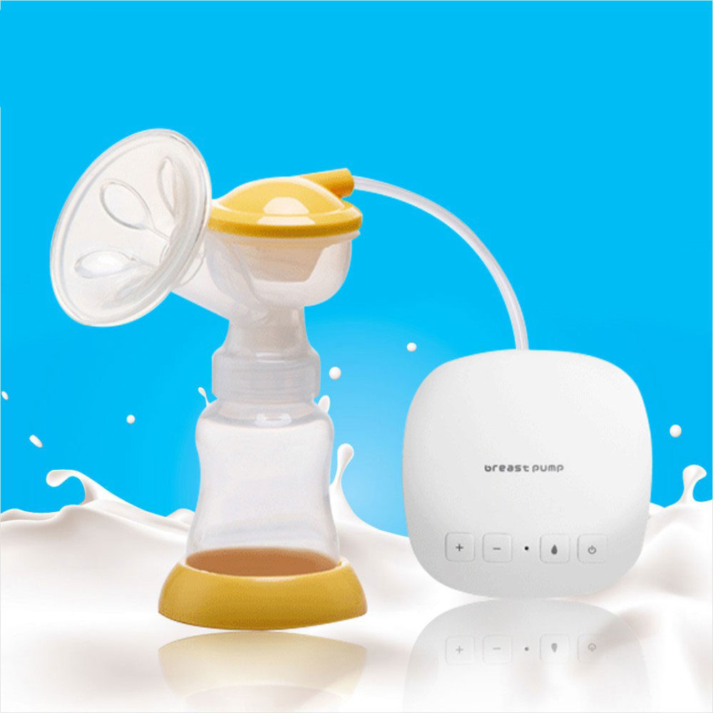 Single USB BPA Free Electric Breast Pump Powerful Nipple Suction Breast Pumps Mom Love With 160ML e1517791312677