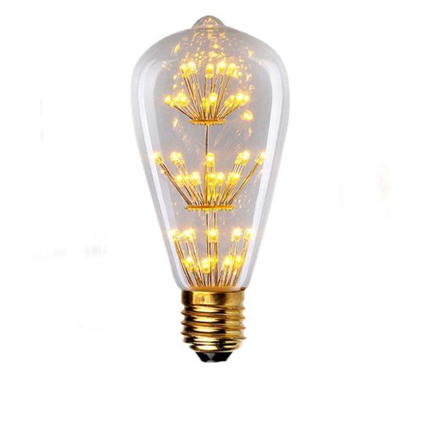 Unique Lightbulbs: Incandescent Decorative Filament Vintage Edison Light Bulb