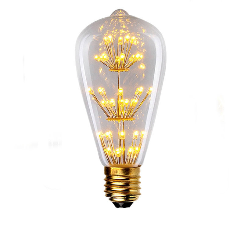 Incandescent Decorative Filament Vintage Edison Light Bulb