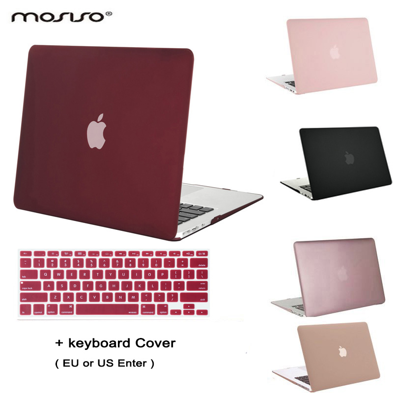 MOSISO Clear Matt Mac Air 13 Plastic Case Laptop Shell Hard Cover for Macbook Air 11