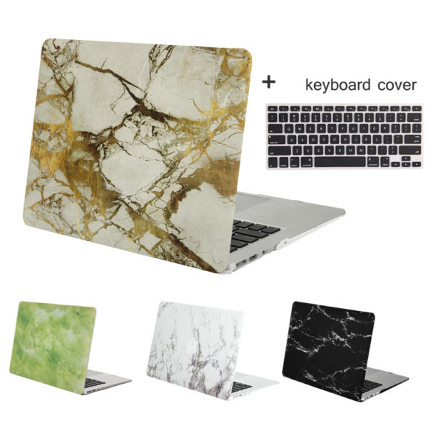 buy popular d12e5 8d9d2 MOSISO Marble Pattern Plastic Hard Cover Case for MacBook Pro/Air 13