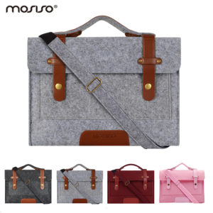 Mosiso Felt 13 3 15 6 inch Laptop Case Bag for MacBook Air 13 Pro 13