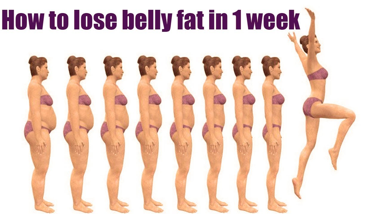 How To Lose Belly Fat Fast 10 Proven Ways To Lose In 1 Week