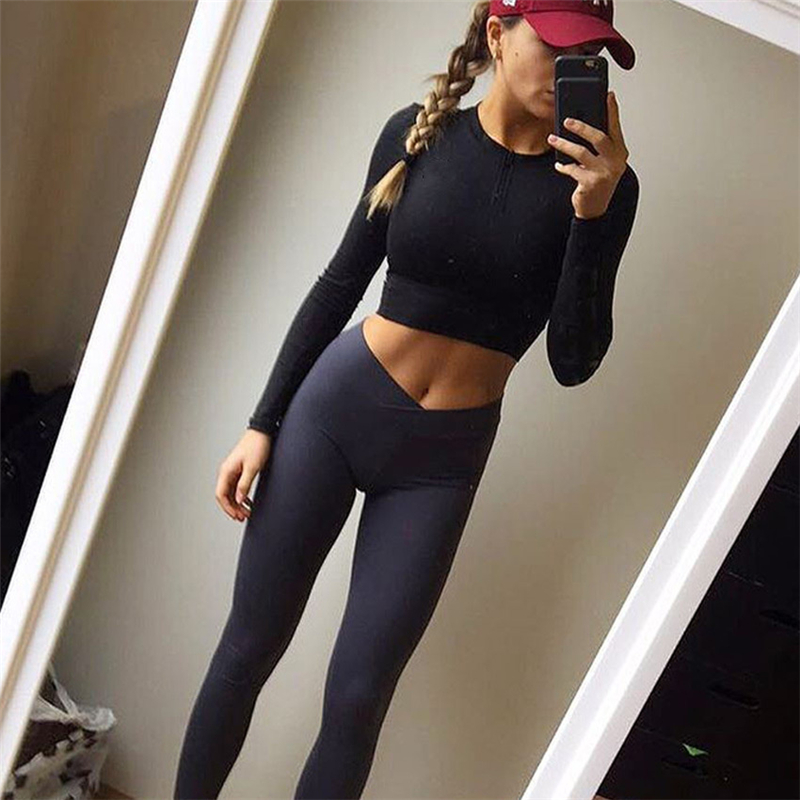 CALOFE Running Tights Skinny for Women Sport Pants and ...