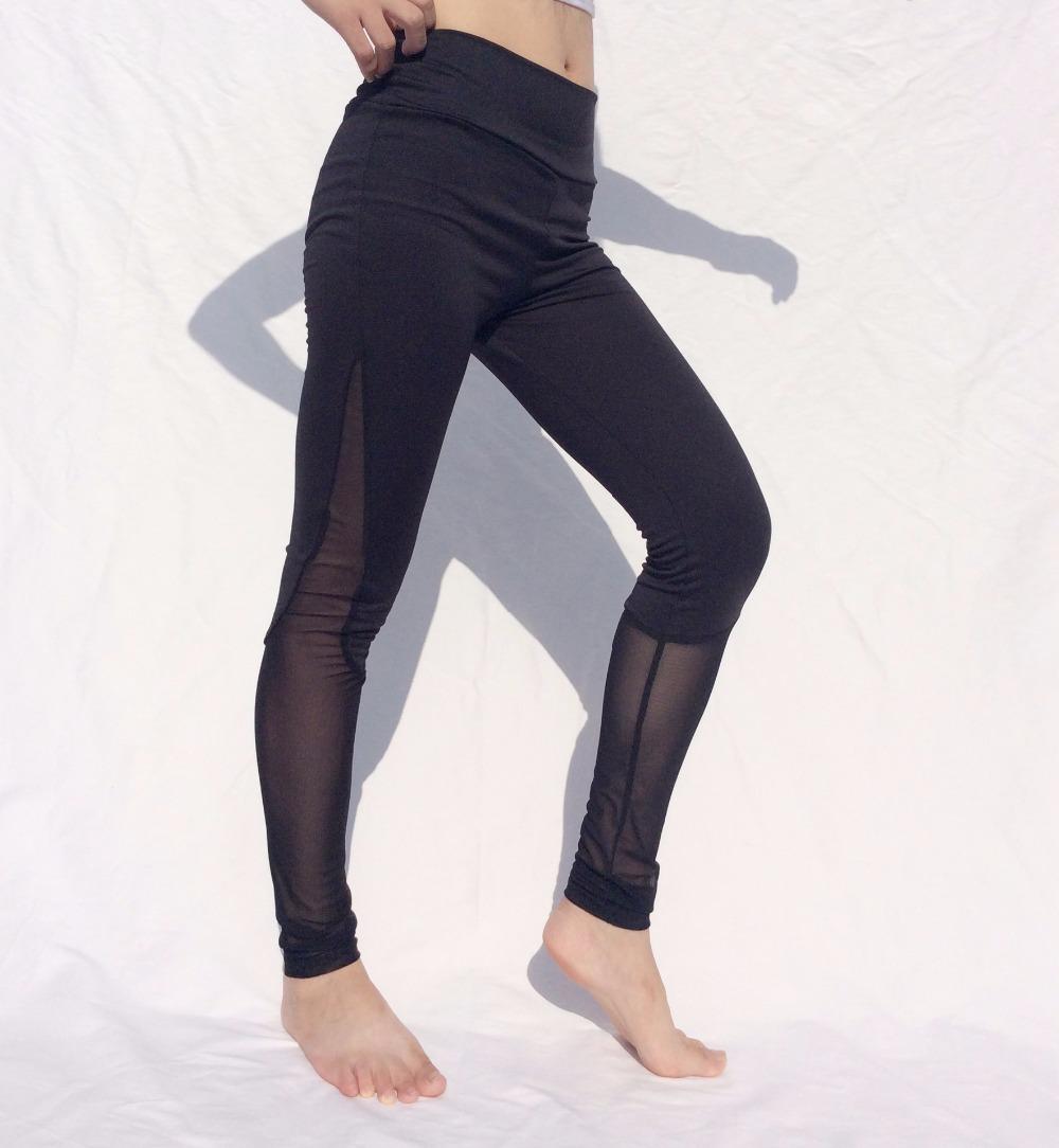 Women's Sports Mesh Yoga Gym Workout Fitness Leggings