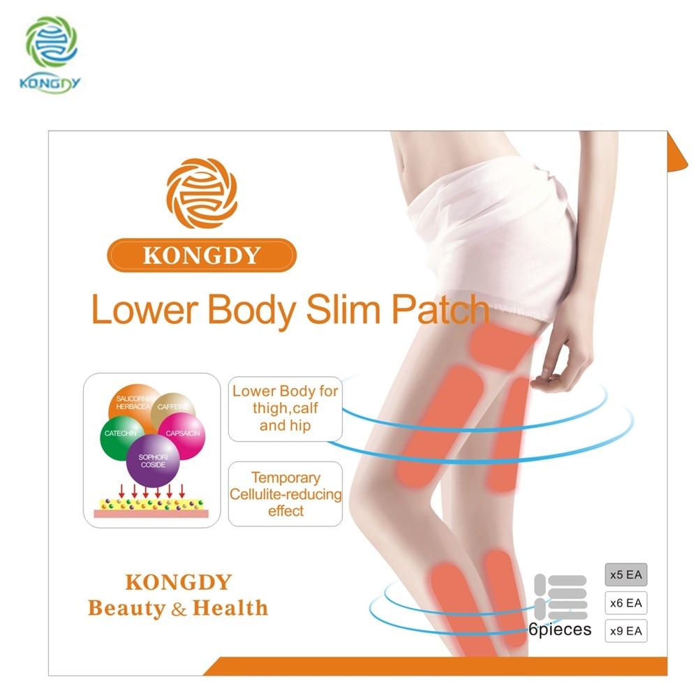 6260729db418f KONGDY Brand Lower Body Slim Patch 30 Pieces Box Leg Slim Pad Body Weight  Loss Plaster